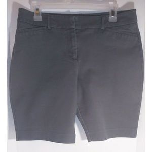 Apt. 9 essentials gray bermuda shorts